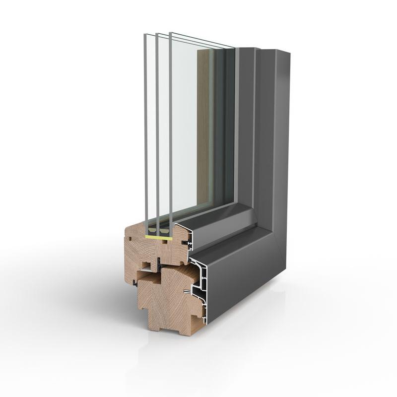 Holz alu fenster hersteller vergleich  Tresorbandfenster HA97 | Bayerwald Fenster & Haustüren