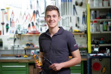 Manuel Dullinger, 21 Jahre, Industriemechatroniker