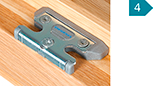 RC2-Sicherheits-Schließstücke für hohen Aushebelschutz