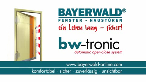 Bayerwald Fenster Und Türen bw tronic automatic open system bayerwald fenster haustüren
